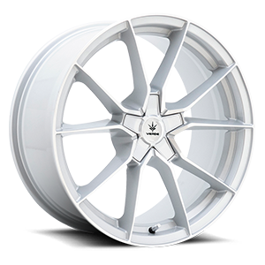 V18 Verve 5 Gloss Silver Machined