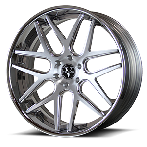 VCA Concave 6 Brushed and Polished with Chrome Lip