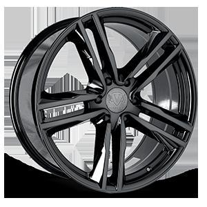 VT377 (SUV) 6 Black Eco Plate