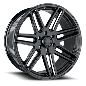 VT379 6 Black Eco Plate