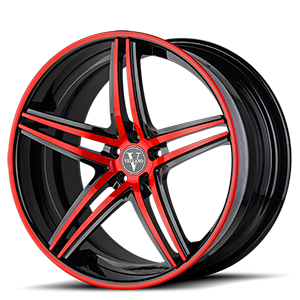 VKN concave 6 Red