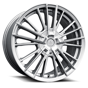 V10 Influx 5 Gloss Silver Machined