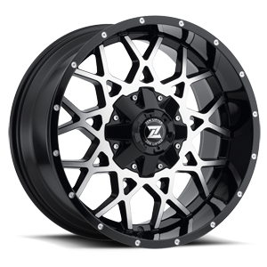 Storm 5 Black & Machined Face