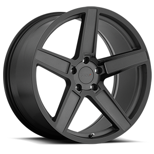 Ascent 5 Matte Gunmetal with Gloss Black Face