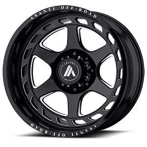 AB816 Anvil 8 Gloss Black Milled