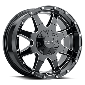 Series 904B Fury 1 5 Gloss Black with Milled Edges