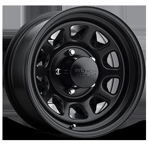 Series 942 Type D Steel 5 Matte Black