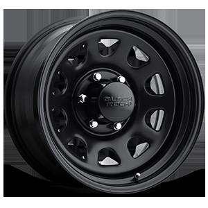 Series 942 Type D Steel 6 Matte Black