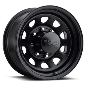 Series 942 Type D Steel 8 Matte Black