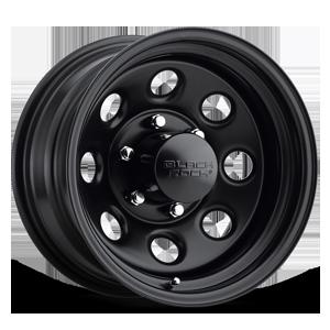 Series 997 Type 8 6 Matte Black