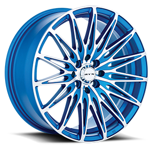 Crystal 5 Matte Blue Machined
