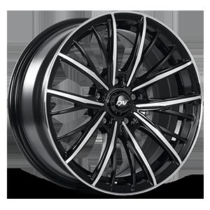 Akido 5 Gloss Black & Machined