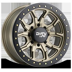 9303 DT-1 8 Satin Gold w/ Optional Rash Ring