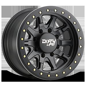 9304 DT-2 8 Matte Black w/ Optional Rash Ring