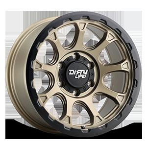 9307 Drifter 6 Matte Gold w/ Matte Black Lip