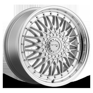 310 Retro 5 Silver Machined
