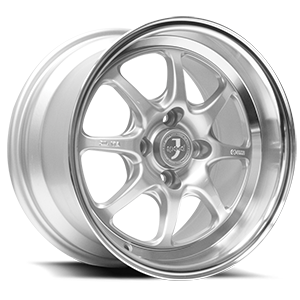 JSpeed 4 Silver with Machined Cut Face & Lip