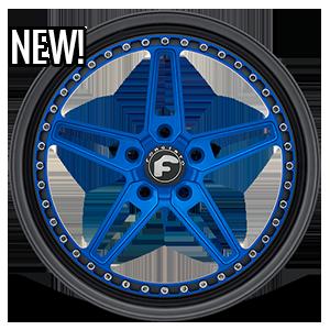 F-Cinque 5 Blue Center, Black Lip