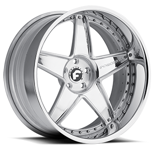 CLASSICO 5 Chrome Center, Chrome Lip