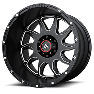 AB810 Ballistic 6 Gloss Black Milled