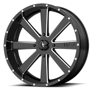 M34 Flash 4 Gloss Black Milled