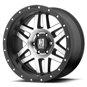 XD128 Machete 6 Machined Face w/ Black Ring