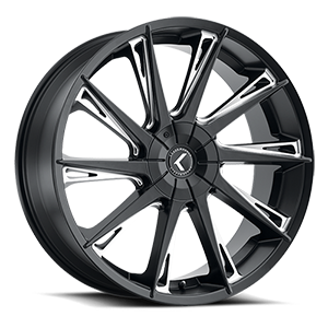 144 Swagg 5 Satin Black Milled