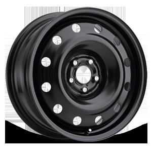 Atom 5 Steel Wheel Satin Black