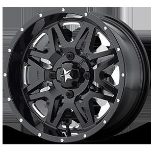 M26 Vibe 4 Gloss Black & Milled