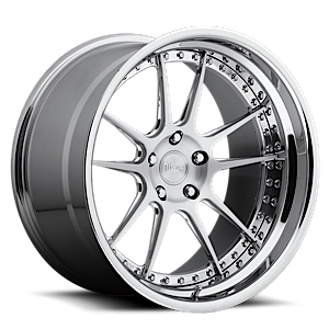 Chicane - H81 5 Brushed with Chrome Lip
