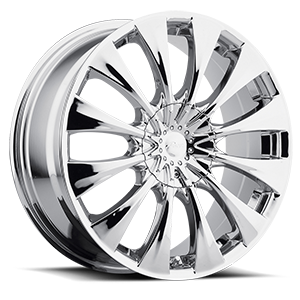 776C Silhouette 5 Chrome Plated
