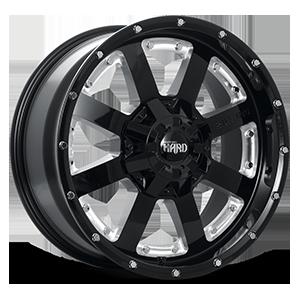 Titan-HD 5 Gloss Black & Milled