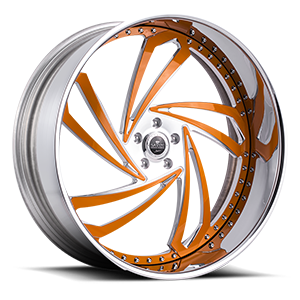 Lazio 5 Chrome w/ Orange