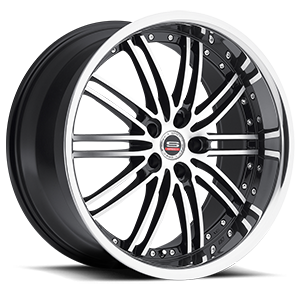 SP-07 5 Gloss Black Machined Stainless Lip