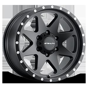 Aluminum Stealth (Series 770) 17x8.5 6 Matte Black