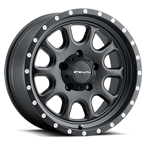 Aluminum Stealth (Series 771) 17x8.5 5 Matte Black