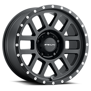 Aluminum Stealth (Series 772) 17x8.5 5 Matte Black
