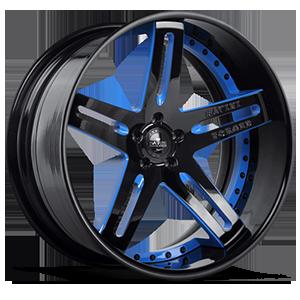 SV1-C 5 Black with Blue Trim