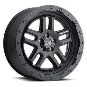 Barstow 5 Textured Matte Black - 20x8.5