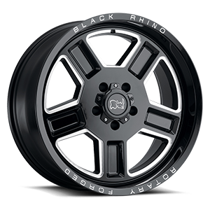 Canon 5 Gloss Black w/ Milled Spokes