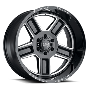 Canon 6 Gloss Black w/ Milled Spokes