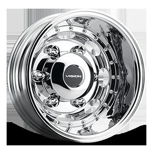 181Z Van Dually 6 Chrome Rear