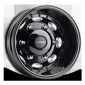 181Z Van Dually 6 Gloss Black Rear