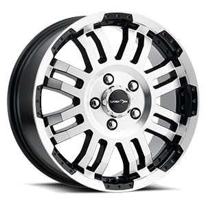 375 Warrior - UTILITY VAN FITMENT 5 Gloss Black Machined Face