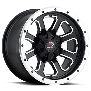 548 Commander 4 Matte Black with Machined Face