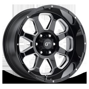TR10 6 Gloss Black Milled
