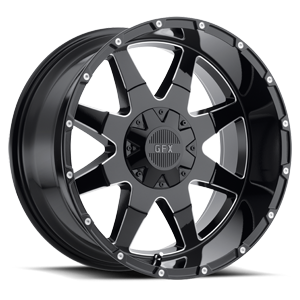 TR12 6 Gloss Black Milled