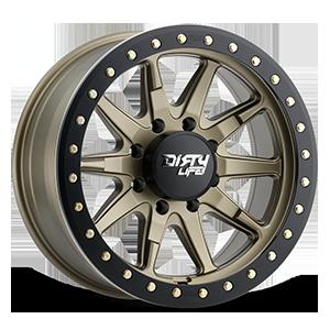 9304 DT-2 8 Satin Gold w/ Optional Rash Ring