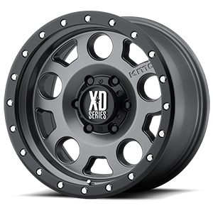 XD126 Enduro Pro 6 Matte Gray w/ Black Ring