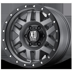XD128 Machete 6 Matte Gray w/ Black Ring
